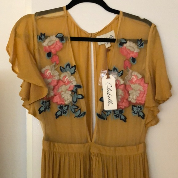 21843996876 NWT Cleobella Amery Maxi Dress size Medium